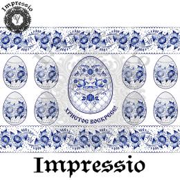 215415. Рисовая декупажная карта Impressio. 25 г/м2