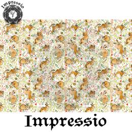 215433. Рисовая декупажная карта Impressio. 25 г/м2