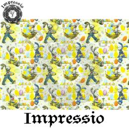215435. Рисовая декупажная карта Impressio. 25 г/м2