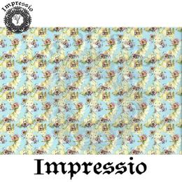215437. Рисовая декупажная карта Impressio. 25 г/м2