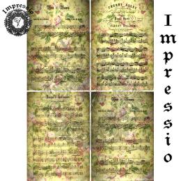 215489. Рисовая декупажная карта Impressio. 25 г/м2