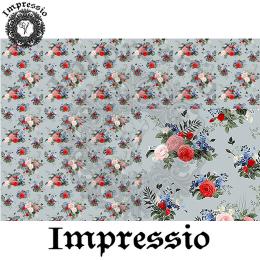 215491. Рисовая декупажная карта Impressio. 25 г/м2