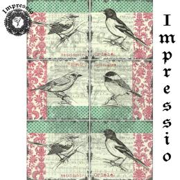 215560. Рисовая декупажная карта Impressio. 25 г/м2