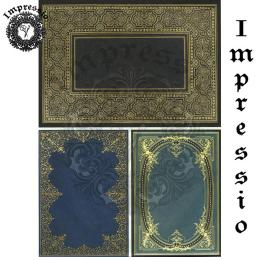 215656. Рисовая декупажная карта Impressio. 25 г/м2