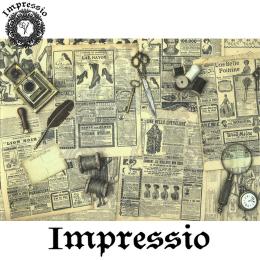 215771. Рисовая декупажная карта Impressio. 25 г/м2