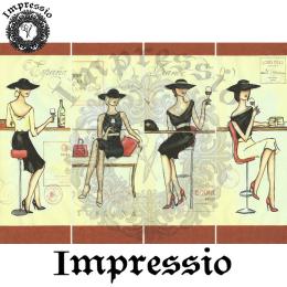 215805. Рисовая декупажная карта Impressio. 25 г/м2