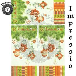 215868. Рисовая декупажная карта Impressio. 25 г/м2