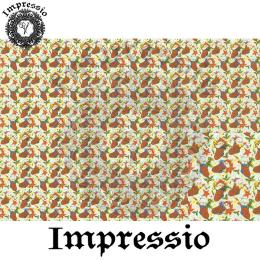 215879. Рисовая декупажная карта Impressio. 25 г/м2