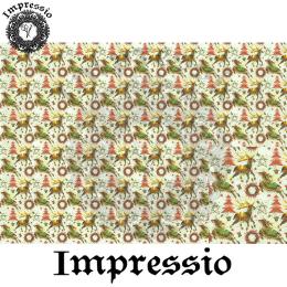 215880. Рисовая декупажная карта Impressio. 25 г/м2