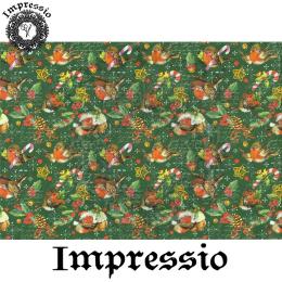 215882. Рисовая декупажная карта Impressio. 25 г/м2