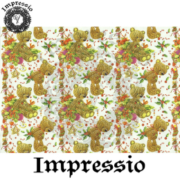 215884. Рисовая декупажная карта Impressio. 25 г/м2