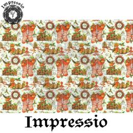 215885. Рисовая декупажная карта Impressio. 25 г/м2