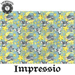 215888. Рисовая декупажная карта Impressio. 25 г/м2