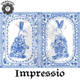 216285. Рисовая декупажная карта Impressio. 25 г/м2