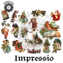 6134. Декупажная карта Impressio, плотность 45 г/м2