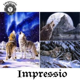 6219.  Декупажная карта Impressio. Плотность 45 г/м2.