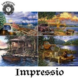 6223.  Декупажная карта Impressio. Плотность 45 г/м2.