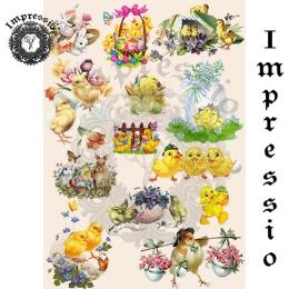 6384. Декупажная карта Impressio. Плотность 45 г/м2