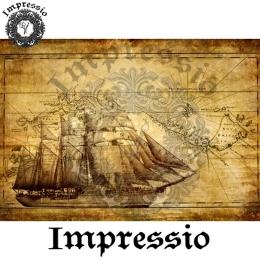 7192.  Декупажная карта Impressio, плотность 45 г/м2.