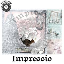 7238.  Декупажная карта Impressio, плотность 45 г/м2.