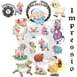 7249.  Декупажная карта Impressio, плотность 45 г/м2.