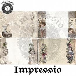 7496. Декупажная карта  Impressio, плотность 45 г/м2