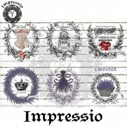 7721. Декупажная карта  Impressio, плотность 45 г/м2