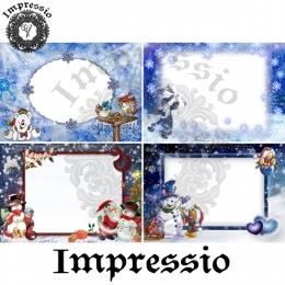 7815. Декупажная карта  Impressio, плотность 45 г/м2