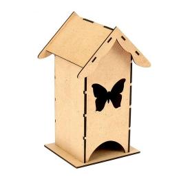ЧД-17. Чайный домик с бабочкой, МДФ
