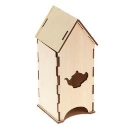 ЧД-3. Чайный домик с чайником, дерево