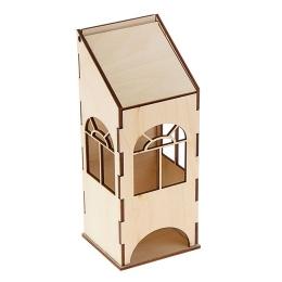 ЧД-34. Чайный домик с пологой крышей, дерево