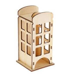 ЧД-35. Чайный домик «Телефонная будка», дерево