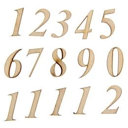 ОД-38. Цифры, фанера, 12 чисел. 5 наборов, 40 руб/набор
