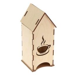 ЧД-4. Чайный домик с кружкой, дерево