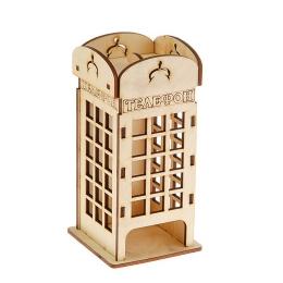 ЧД-45. Чайный домик «Телефонная будка», дерево