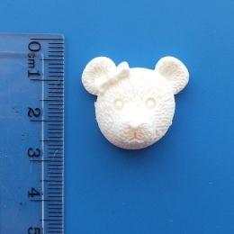 пл/54.Декор мишка, пластик.