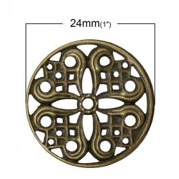 hm-1032. Декоративный элемент круглый. 5 шт., 10 руб/шт