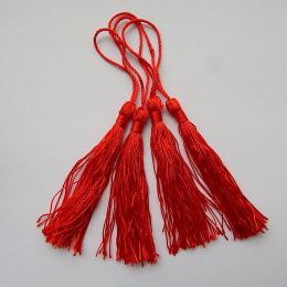 hm-1059. Кисточка, цвет красный. 10 шт., 10 руб/шт