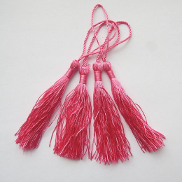hm-1060. Кисточка, цвет розовый. 5 шт., 13 руб/шт