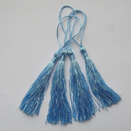 hm-1063. Кисточка, цвет голубой. 10 шт., 10 руб/шт