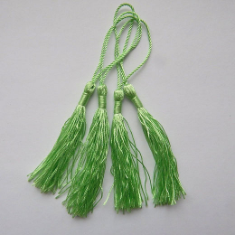hm-1064. Кисточка, цвет зеленый. 10 шт., 10 руб/шт