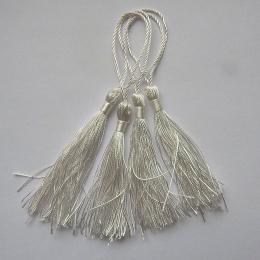hm-1068. Кисточка, цвет белый. 10 шт., 10 руб/шт