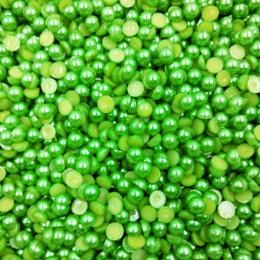 hm-1099. Полубусины, зеленые. 300 шт., 0,8 руб/шт