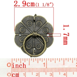 hm-110. Ручка, состаренная бронза. 50 шт., 15 руб/шт