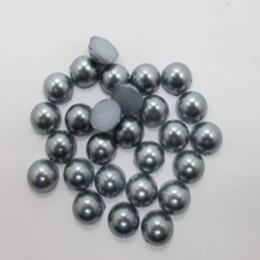 hm-1101. Полубусины, темно-серые. 300 шт., 0,8 руб/шт