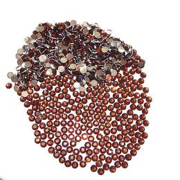 hm-1157. Стразы, коричневые. 500 шт., 0,5 руб/шт