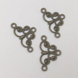hm-1185. Уголок, цвет бронза, 20 шт., 9 руб/шт