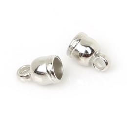 hm-1218. Колпачок для кисточек, цвет серебро. 5 шт., 7 руб/шт