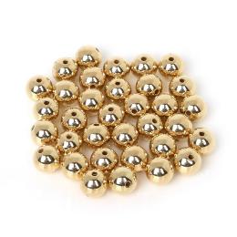 hm-1235. Бусины, цвет золото. 20 шт., 1,5 руб/шт