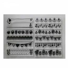 hm-1269. Набор силиконовых штампов Мелочи